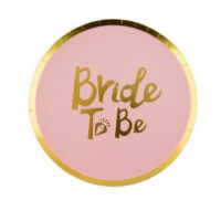 צלחות bride to be