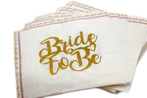 מפיות bride זהב